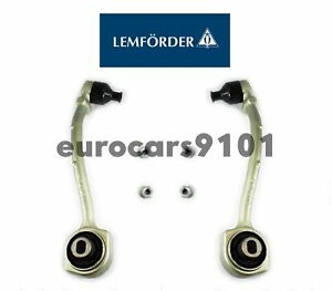 Lemforder Front Left & Right Lower Rearward Control Arms 2043301911 / 2043302011