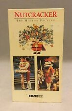 Nutcracker - The Motion Picture (VHS) Musical Christmas 1984 Free shipping GUC