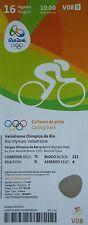 mint TICKET 16.8.2016 Olympia Rio Radsport Cycling Track # V08
