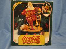Christmas Coke Coca Cola Santa Claus Mechanical Ertl Pig Bank