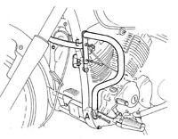 Yamaha XVS 650 Arrastre Star Protector de Motor Cromado por Hepco y Becker