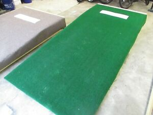 "NEW CUSTOM BUILT TURF 9FT 4IN LONG PITCHERS PITCHING MOUND 10"" HEIGHT, MLB SPEC"