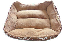 Cute Plush Dog Bed Pet Dogs or Cats Kennel  size M