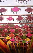 Pankhi Indian Handmade Decorative Fans Hanging Party Props Wholesale 10 Pc Lot