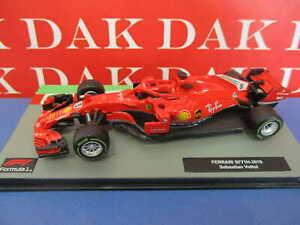 Die cast 1/43 Modellino Auto F1 Ferrari SF71H 2018 S. Vettel
