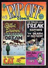 Rip-Off Comix #6 ~  Rip Off Press ~ Underground Comic ~ 1980 (5.5) WH