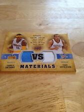 C.ANTHONY/T.SEFOLOSHA -2009-2010 UPPER DECK VS MATERIALS-#VS-AS  500/600