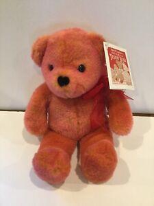 Avon Plush Teddy Bear Collectible 2002 100th Anniversary Talking - NWT 01356