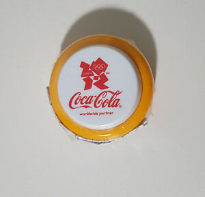 COCA COLA COKE YOYO OLYMPICS YELLOW LONDON 2012 SEALED IN PLASTIC! PROMOTIONAL!