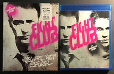 Fight Club Blu Ray 10Th Anniversary Edition With Oop Rare Slipcover Brad Pitt
