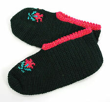 Ladies NEW handmade crochet slippers, synthetic yarn, house slippers, Soft house