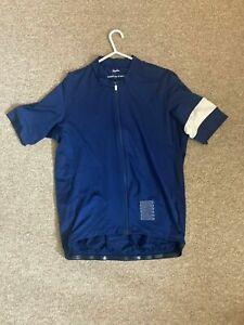 Rapha pro team short sleeve training navy cycling jersey A++++ Shape! xl worn 1x
