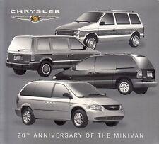 CHRYSLER VOYAGER 20 Jahre Years Anniversary History Pressemappe Media-Kit 2003