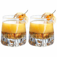 Set of 2 Tumblers 33cl Bar Drinks Party Drinking Glasses Vodka Whisky Cocktail