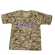 Syracuse Chiefs Camo Baseball Jersey - Mets - Promotional Shirt - Large