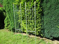 Rankhilfe Gartenzaun 2 Teilig Rankgitter Spalier Sichtschutz Stahl verzinkt