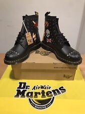 Dr. Martens 1460 Rockabilly de cuero liso Botas al Tobillo! Talla 13!! nuevo!! sólo £ 149.90!