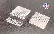 EGO01-HO-Lot de 20 plaques d'egout / regards de trottoir avec avaloir - type 1