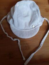 Sterntaler Unisex White Summer Sun Hat 3-4 Months