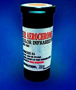 1 roll of Kodak AEROCHROME 120 color IR film, scarce