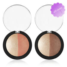 E.l.f. Baked Highlighter Choose Shade ELF Highlighting Bronzer Blusher Powder Bronzed Glow Duo