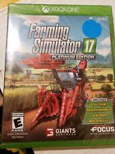 Xbox One Farming Simulator 17: Platinum Edition brand new sealed