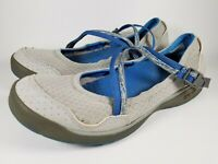 Chaco Mary Jane Shoes Loden Vapor Gray Casual Walking Comfort Womens Size 10 US