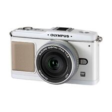 Excellent! Olympus E-P1 12.3MP with 17mm f/2.8 White - 1 year warranty