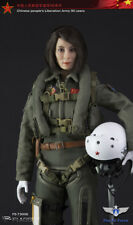 """Flagset 1/6 Scale 12""""  Chinese PLA Airforce Female Aviator Action Figure 73006"""