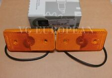 Mercedes-Benz G Class Genuine Side Yellow Marker Light Set  G500 G550 G63 NEW