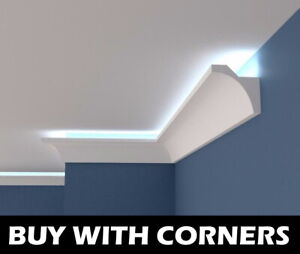 XPS BFS12 COVING LED Lighting molding Wall Ceiling cornice LARGE SIZES +QUALITY+