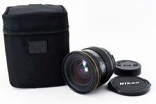 F/S Excellent++ Tokina AF 20-35mm F3.5-4.5 Zoom Lens for Nikon w/Case From Japan