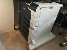 HP COLOR LASER JET CP5525  WHITE BLACK  NETWORK A3 A4 LARGE HP PRINTER