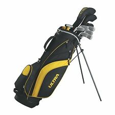 WILSON ULTRA Mens Complete 14 Piece Right Handed Golf Club Set w/Stand Bag
