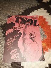TSOL w/ The Skulls at Mississippi Nights St. Louis * 1986 Original Flyer