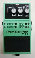 BOSS PN-2 Tremolo Pan Guitar Effects Pedal 1990 #43 Free Shipping