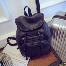 Women Leather Shoulder School Bag Backpack Travel Satchel Rucksack Handbag