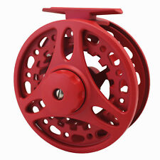 5/6 7/8 FLY FISHING REEL ALUMINUM ADJUSTABLE DISC DRAG 85MM 95MM TROUT FISHING