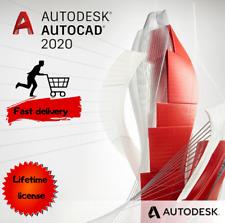 Autodesk AutoCAD 2020 MultiLanguage Full Version For Windows Lifetime Activation