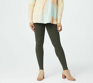 LOGO Layers by Lori Goldstein Knit Legging with Pocket Details - more color
