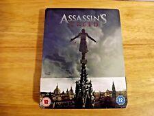 Assassin's Creed 2016 STEELBOOK Blu-ray 3D region free New