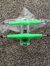 Randal Longboard Trucks Signature Series Neon Green Down Hill Freeride 180mm New