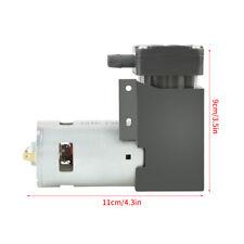 1PC DC 12V 42W Micro Oilless Vacuum Pump -85KPa Flow 40L/min for Gas Air