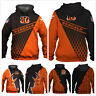 2020 Men's Hoodie Cincinnati Bengals Hooded 3D Print Sweatshirts Pullover Jacket