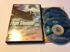 Microsoft Flight Simulator 2004 Base Game PC CD ROM Worldwide Post!