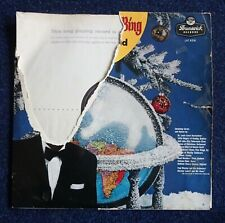 33RPM Record: 1976: c1960s Bing Crosby: A Christmas Sing with Bing