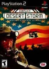 PlayStation2 : Conflict:  Desert Storm VideoGames