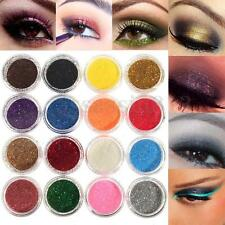16 Mix Color Glitter Dust Powder Eyeshadow Set For Makeup Eye Shadow Cosmetics