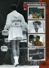 Grenada 2007 MNH Muhammad Ali Greatest of All Time 4v M/S I Boxing Stamps