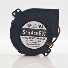 SANYO DENKI 9BMB24P2K08 DC Cooling Fan 9733//24V